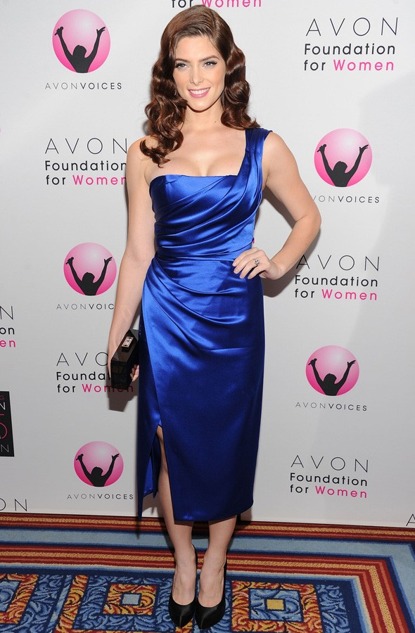 Twilight's Ashley Greene is a brunette bombshell at Avon Foundation Awards