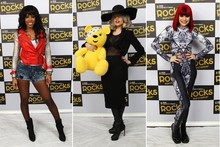 Lady Gaga, Kelly Rowland and Jessie J rock out for Children in Need concert
