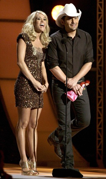 Carrie Underwood and Blake Shelton