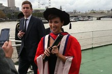 Our contributing editor Dannii Minogue receives honorary degree