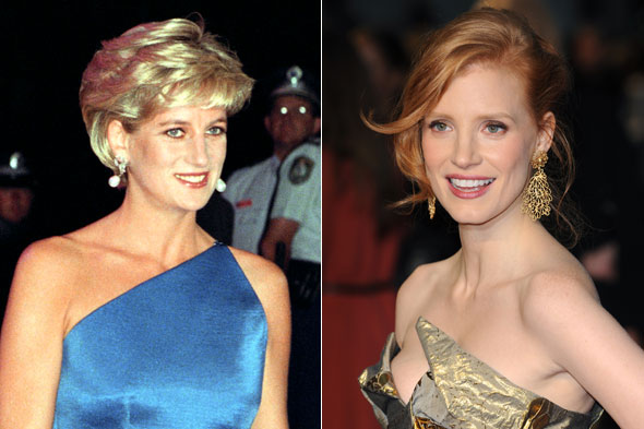 Jessica Chastain to play Princess Diana in film?