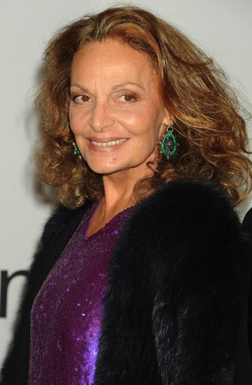Diane von Furstenberg is helping singletons with their style...