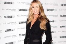 Elle Macpherson hits Selfridges to celebrate underwear collection
