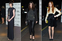 Karen Gillan, Gemma Arterton and Erin O'Connor wow at theatre awards
