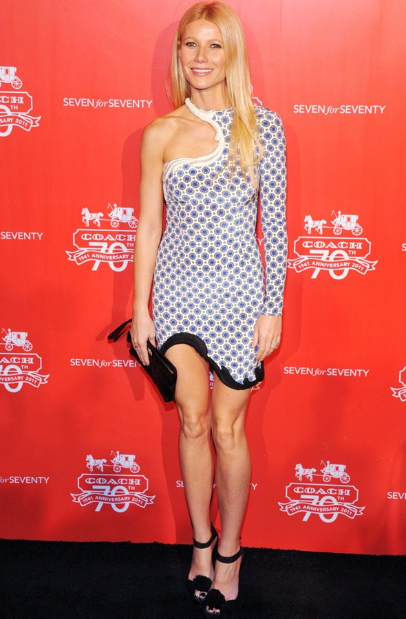 Gwyneth Paltrow at the Coach party in Beijing