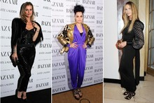 Girls go glam at Harper's Women of the Year Awards