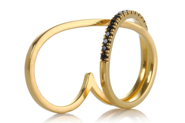 Unusual statement ring