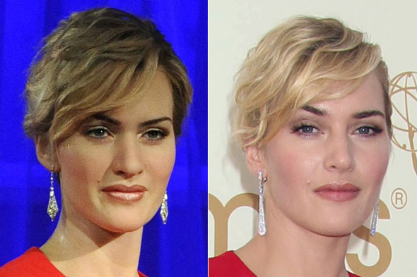 Copy-Kate: Madame Tussauds unveil their Kate Winslet waxwork