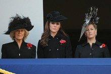 Women in black: Kate and Sam Cam are super-stylish for Remembrance Sunday