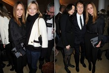Kate Moss and Alexa Chung get festive with Stella McCartney