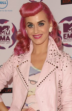 Hot or not: Katy Perry's rockabilly pink hair