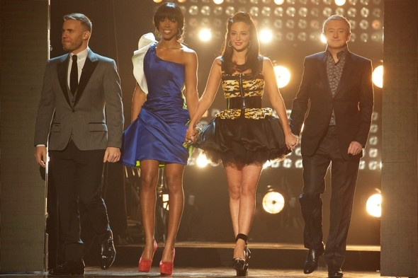 Did Kelly and Tulisa's minidresses have The X Factor?