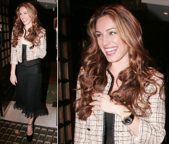 Kelly Brook celebrates her 32nd birthday