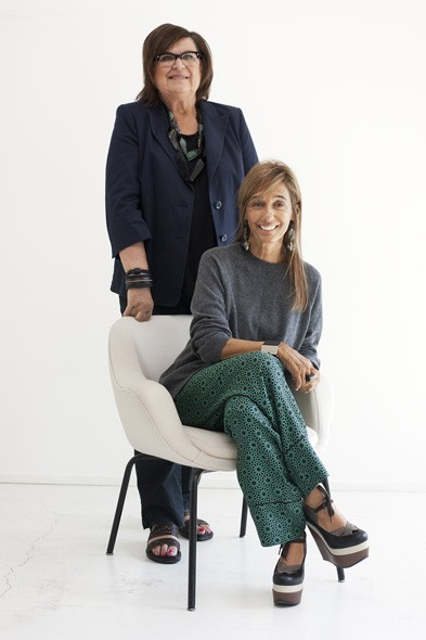 Consuelo Castiglioni, Founder and Creative Director of Marni, and Margareta van den Bosch, Creative Advisor for H&M