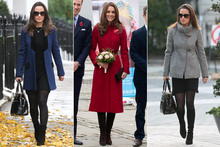 Coat comparison: Which Middleton sister's coat floats your boat?
