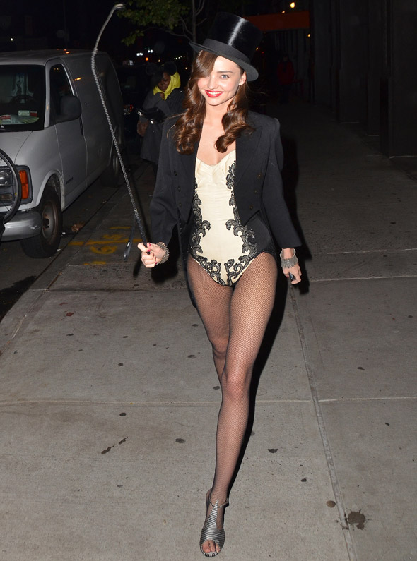 Miranda Kerr looks unfairly hot as a 'sexy circus ringmaster'