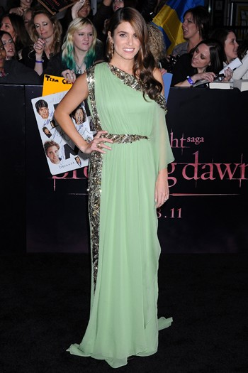 Nikki Reed at the world premiere