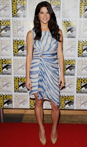 Ashley Greene at Comic Con