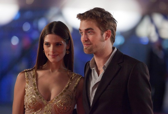Ashley Greene and Robert Pattinson at the Brussels premiere