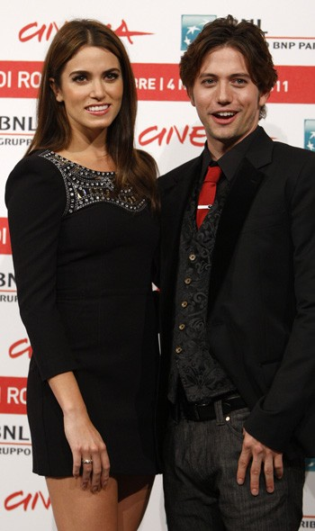 Nikki Reed and Jackson Rathbone at the Rome Film Festival