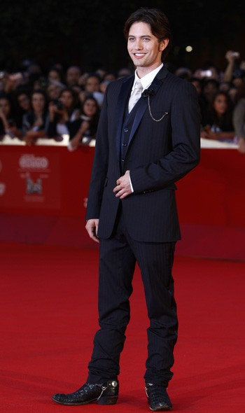 Jackson Rathbone at the Rome premiere