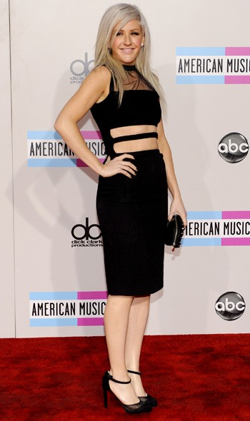 Ellie Goulding in Christopher Kane