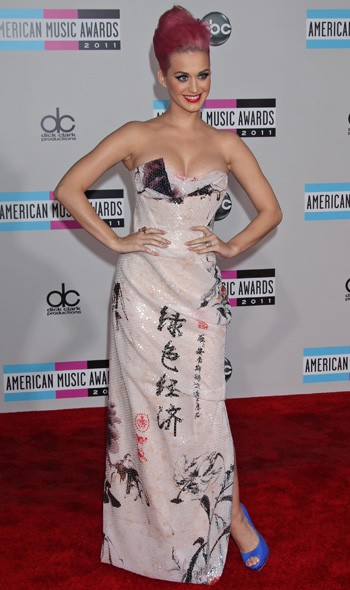 Katy Perry in Vivienne Westwood