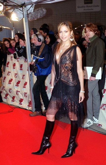 At the MTV Europe Music Awards, 2000