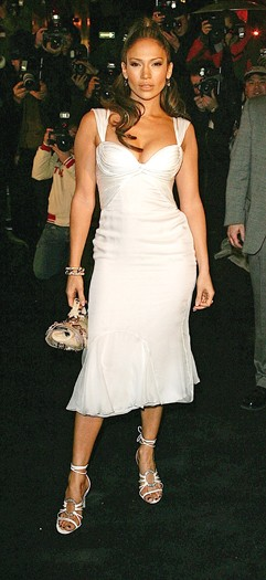 At the Versace boutique cocktail party, 2006