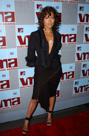At the MTV Awards, 2002