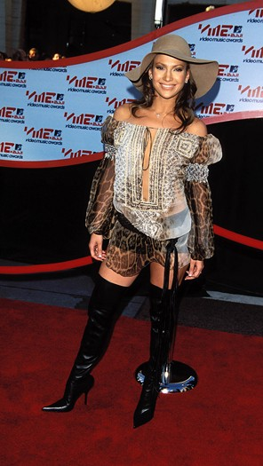 At the MTV Music Video Awards, 2001