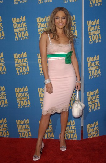 At the 16th Annual World Music Awards, 2004