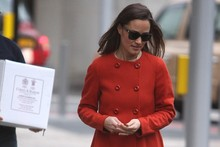 Pippa Middleton shows the high street some love with her new coat