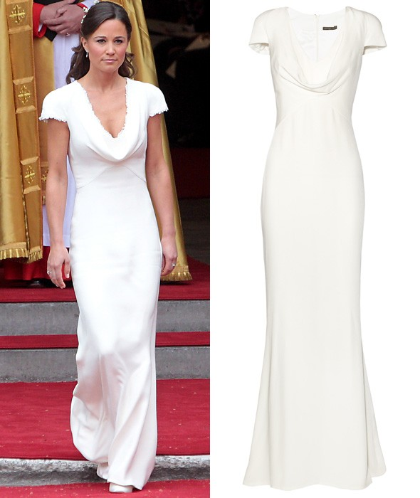 Pippa middleton 39 s bridesmaid dress available to buy on net for Pippa middleton wedding dress buy