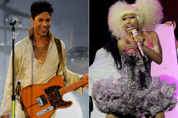 Prince and Nicki Minaj to perform during Versace for H&M catwalk show