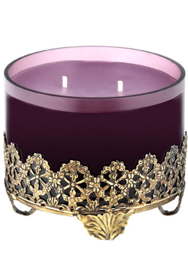 A regal-looking candle