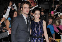 R-Patz and Kristen Stewart rule the red carpet at Breaking Dawn world premiere