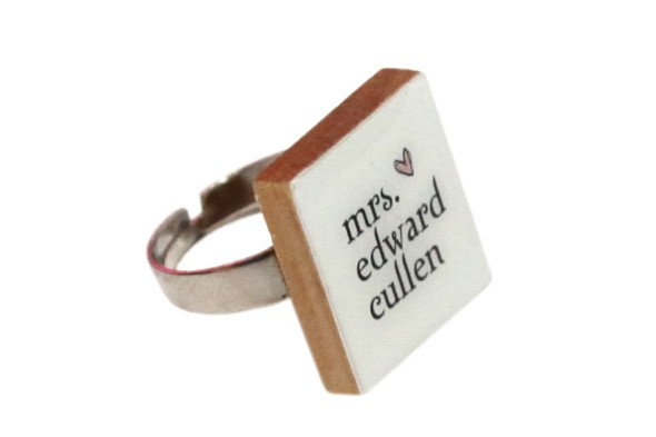 Mrs Edward Cullen ring