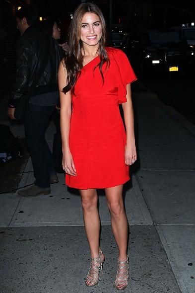 Nikki Reed on the Late Show with David Letterman