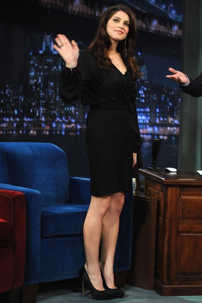 Ashley Greene on Late Night with Jimmy Fallon