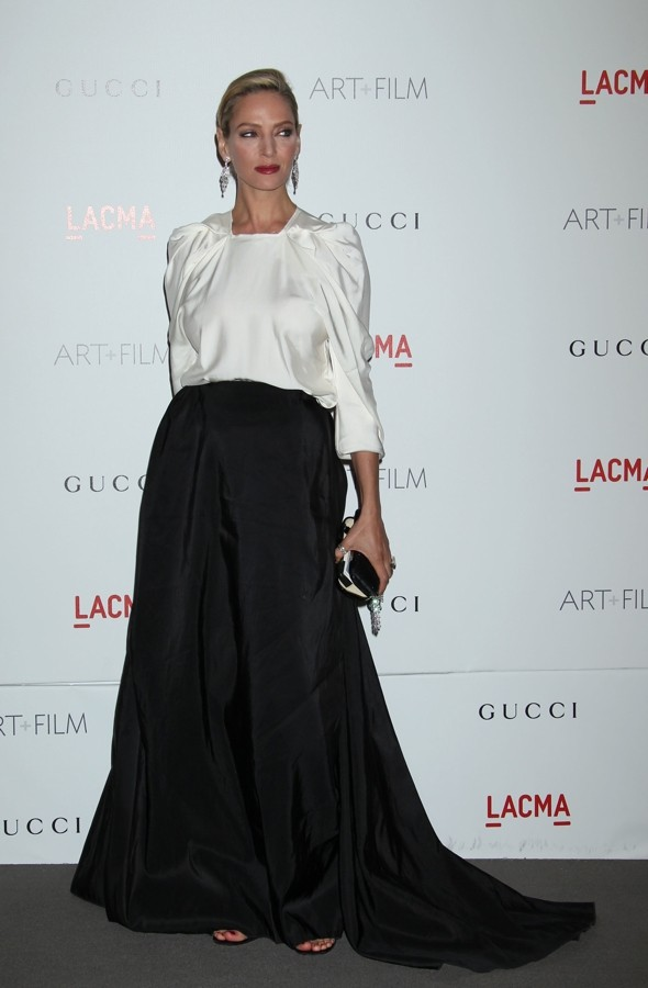 Uma Thurman suffers spectacular fashion fail