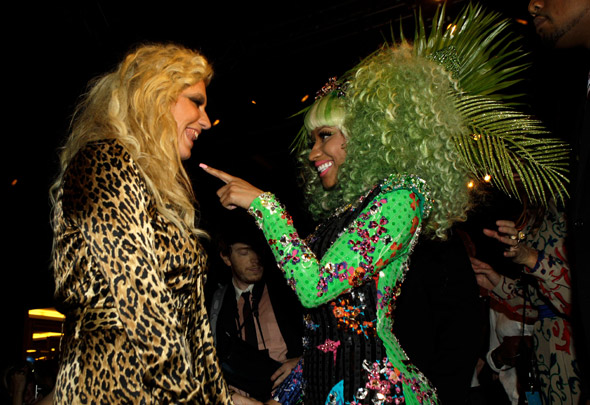 Kesha and Nicki Minaj