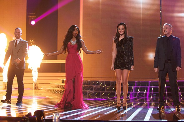Back with a bang! Kelly Rowland makes a ravishing return to The X Factor