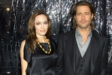 Brad and Angelina make their red carpet return in matching outfits