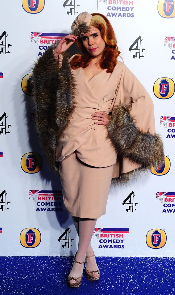 aol, mydaily, paloma faith, british comedy awards, kate mcauley