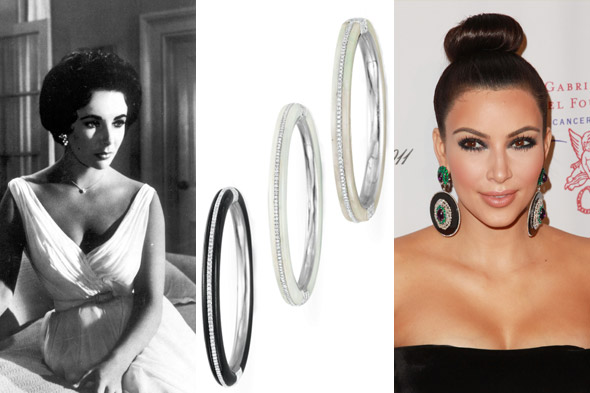 Kim Kardashian drops $65,000 on Liz Taylor jewellery auction