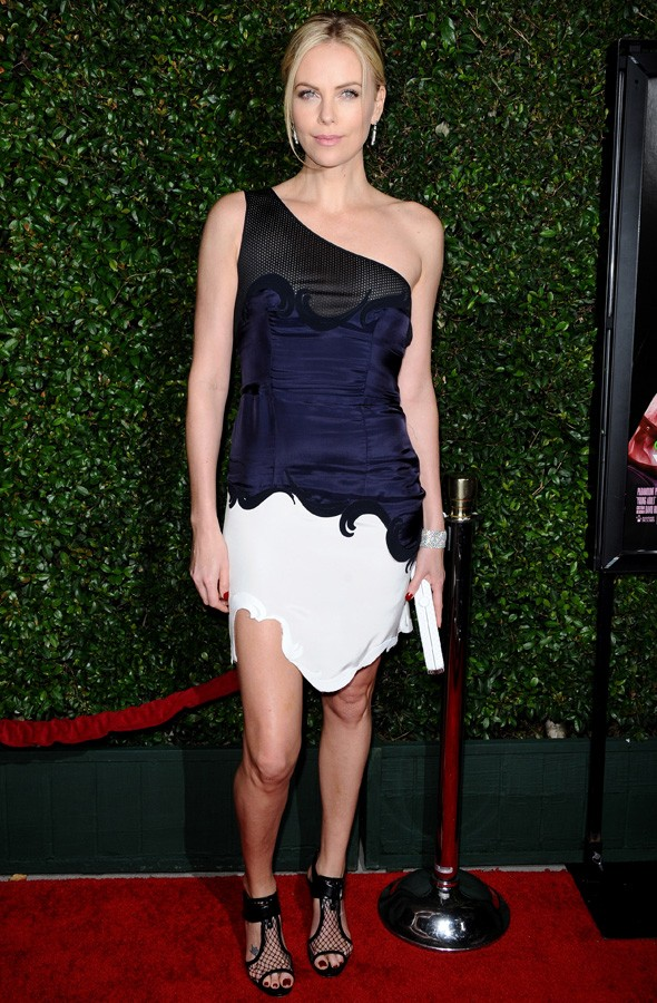 Charlize Theron in Stella McCartney at the LA Premiere of Young Adult