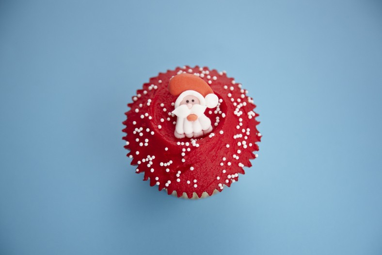 From Half Dozen Christmas Cupcakes (pre-order)