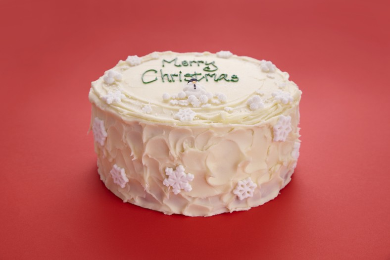 8&quot; Christmas Vanilla Layer Cake (pre-order)