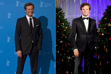 Hot or not: Colin Firth's Christmas waxwork